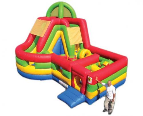 Castle and Slide 8.5m x 5m x 5m
