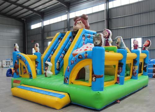 Combo ( Slide and bouncy castle ) 5m x 5m x 4.15H